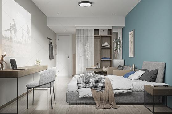 杭州舒湾公寓设计装修案例赏析