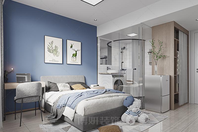 公寓装修,单身公寓装修效果图,单身公寓装修