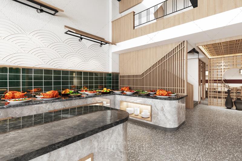 杭州渔丫小馆海鲜主题餐厅设计装修案例赏析