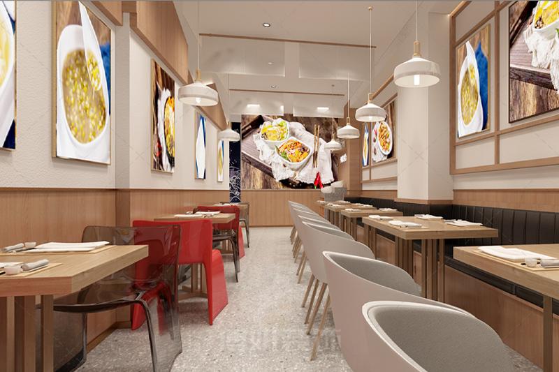 杭州装修设计企业,杭州专业设计企业,杭州小吃店铺装修
