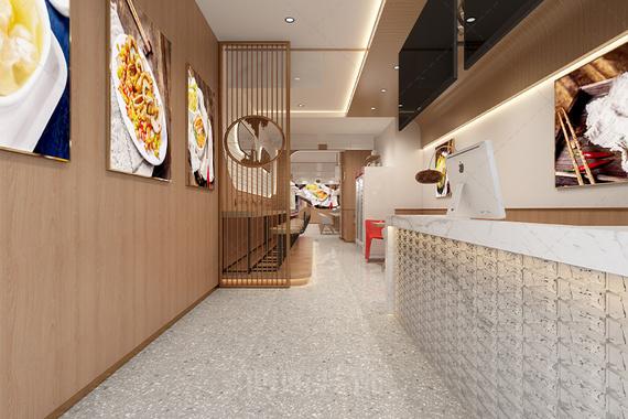 杭州西环肥牛餐饮店设计装修案例赏析