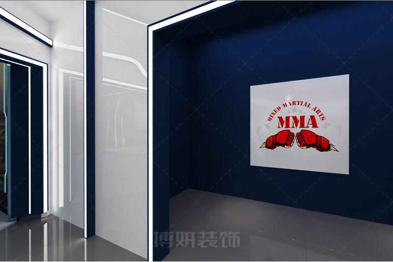 杭州搏击馆健身房设计装修案例赏析