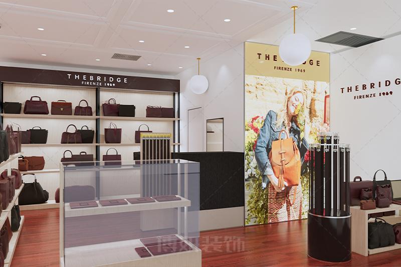 杭州大厦高端皮具店设计装修案例赏析