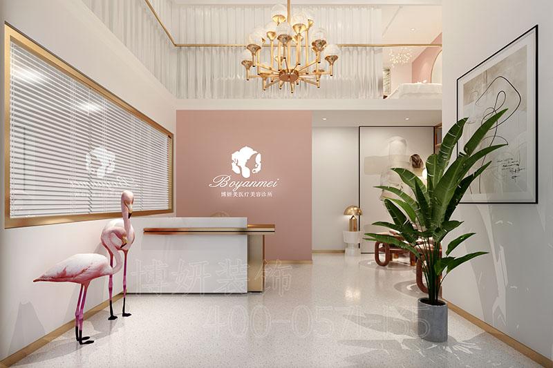 杭州专业美容院装修设计企业,杭州美容院装潢设计企业,杭州美容院装修效果图,杭州装修企业