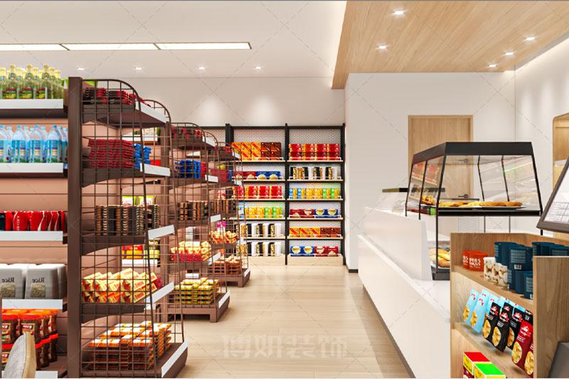 杭州时尚便利超市设计装修案例赏析