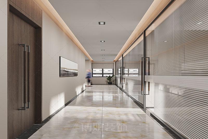 杭州圣昌科技办公室设计装修案例赏析