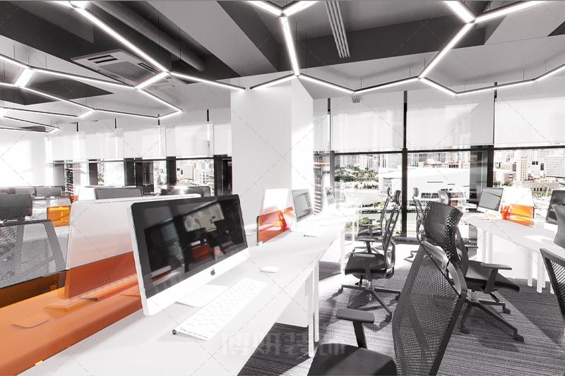 杭州宙马电商办公室设计装修案例赏析