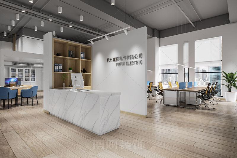 杭州富拓电气办公室设计装修案例赏析