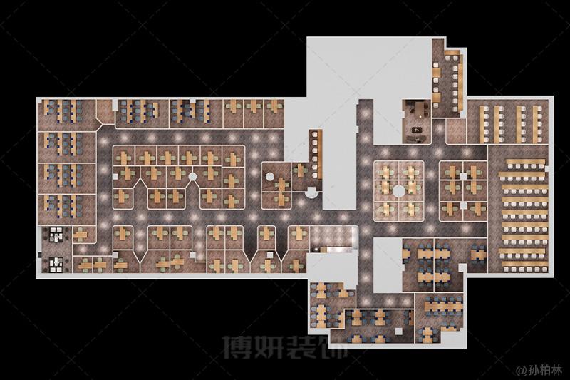 杭州纳思教育培训机构装修设计案例