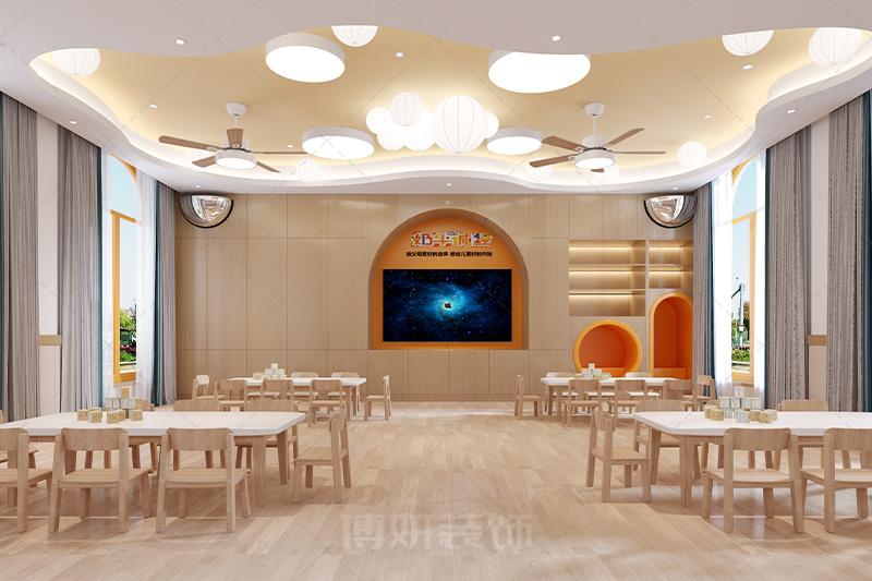 杭州奶牛城堡培训机构装修设计案例