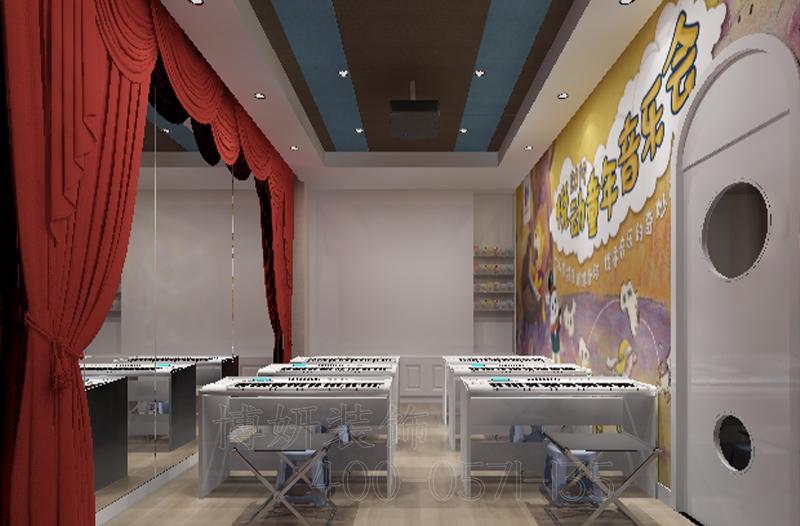 杭州音乐培训机构装修设计