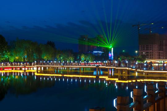 陕西亮化照明工程,景观亮化工程中设计分析?