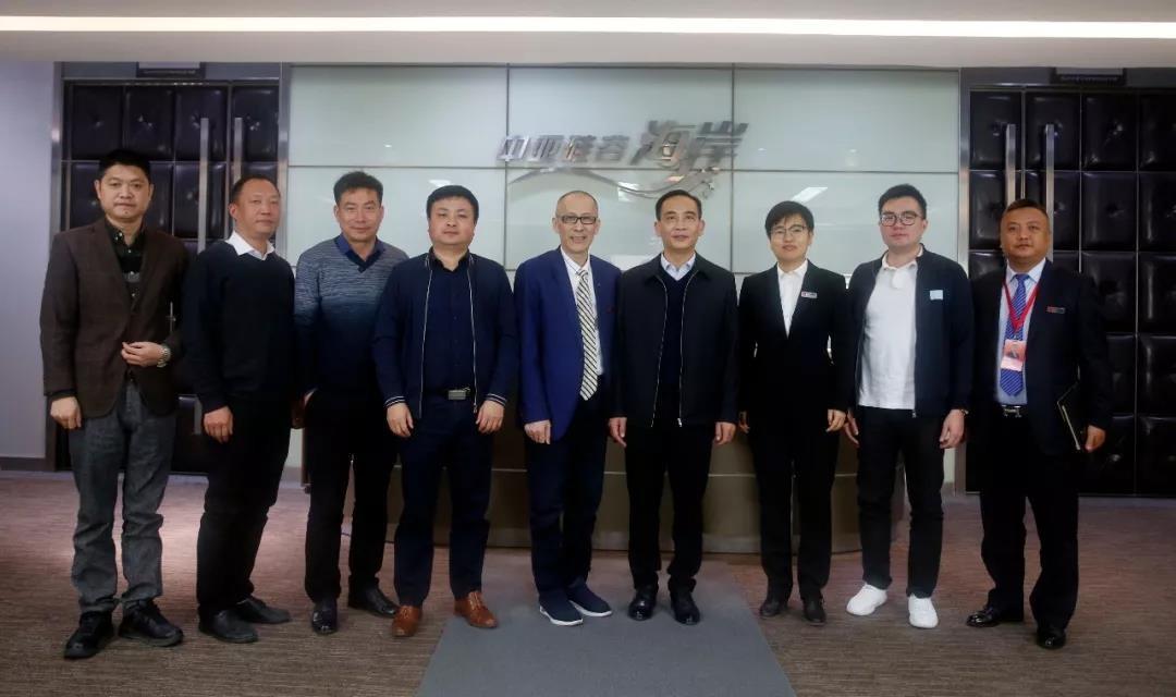 湖北省荆州沙市区领导莅临中亚参观指导