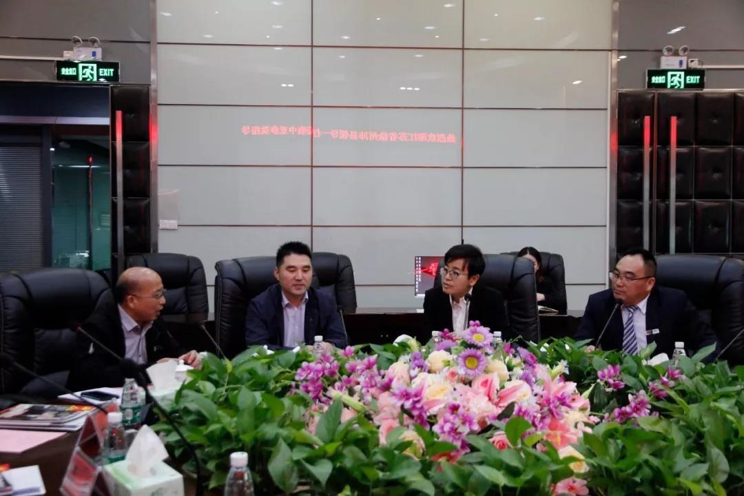江苏省徐州市沛县领导一行莅临中亚参观考察