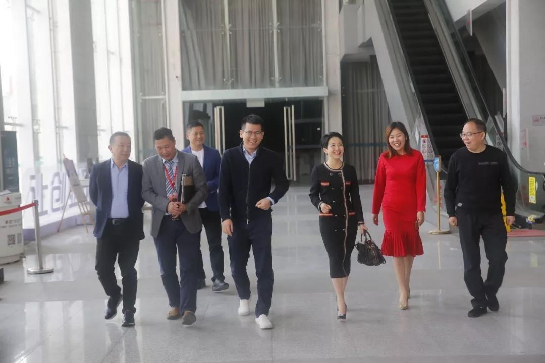 陕西省洋县领导考察中亚硅谷产业基地