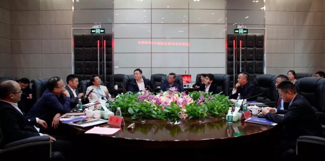 贵州省投促人员赴深圳驻点招商工作团队考察中亚硅谷产业基地