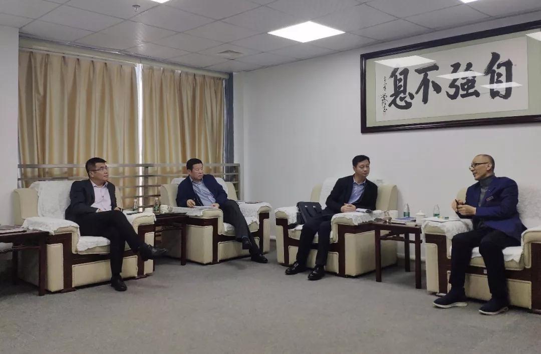 黑龙江省鸡西鸡冠区领导一行莅临中亚参观指导