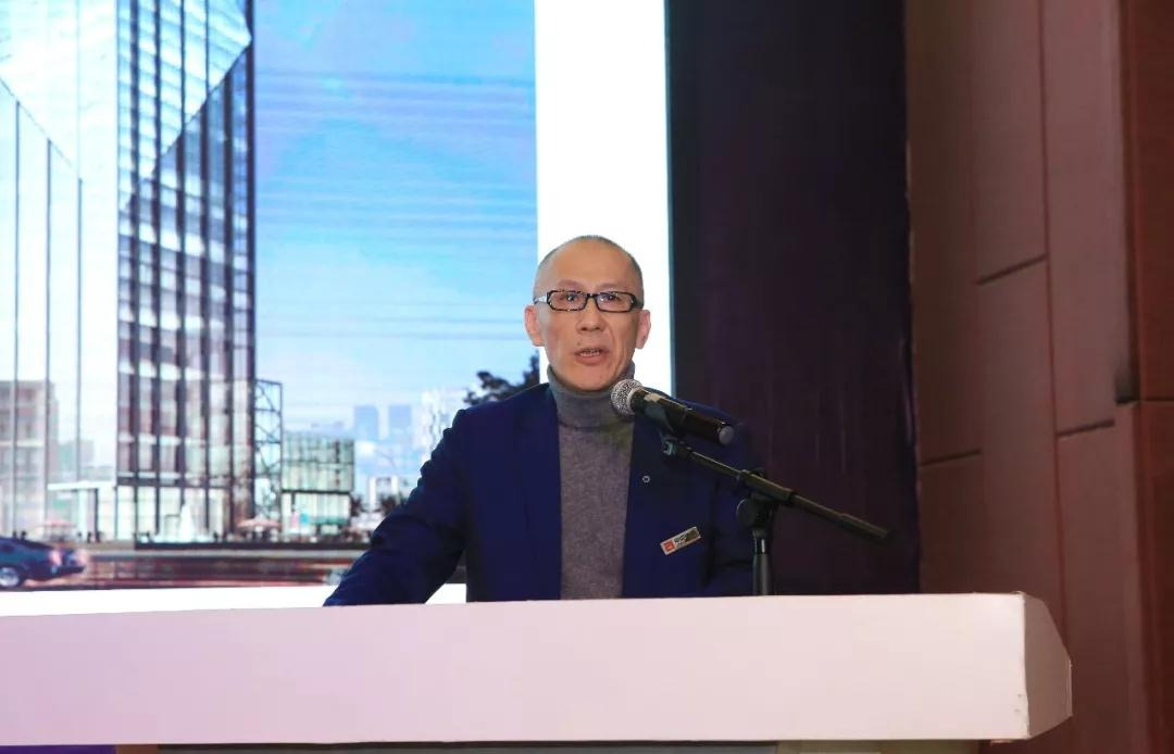 中亚集团董事局主席黄炳煌致欢迎辞