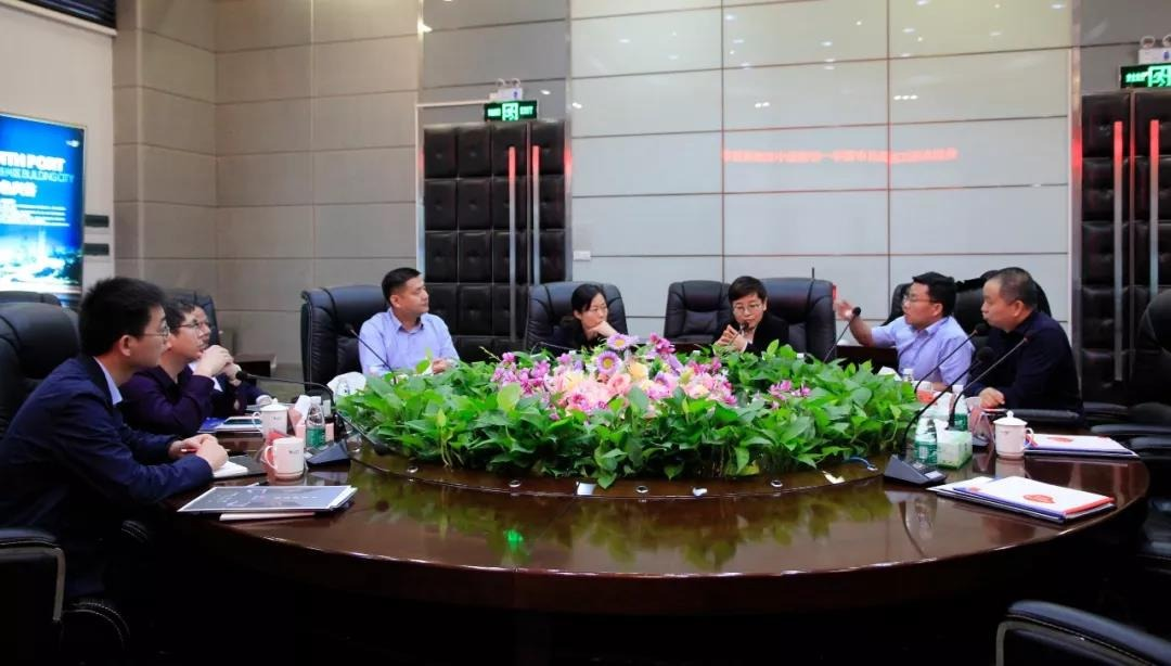 江西省瑞昌市领导一行莅临中亚参观