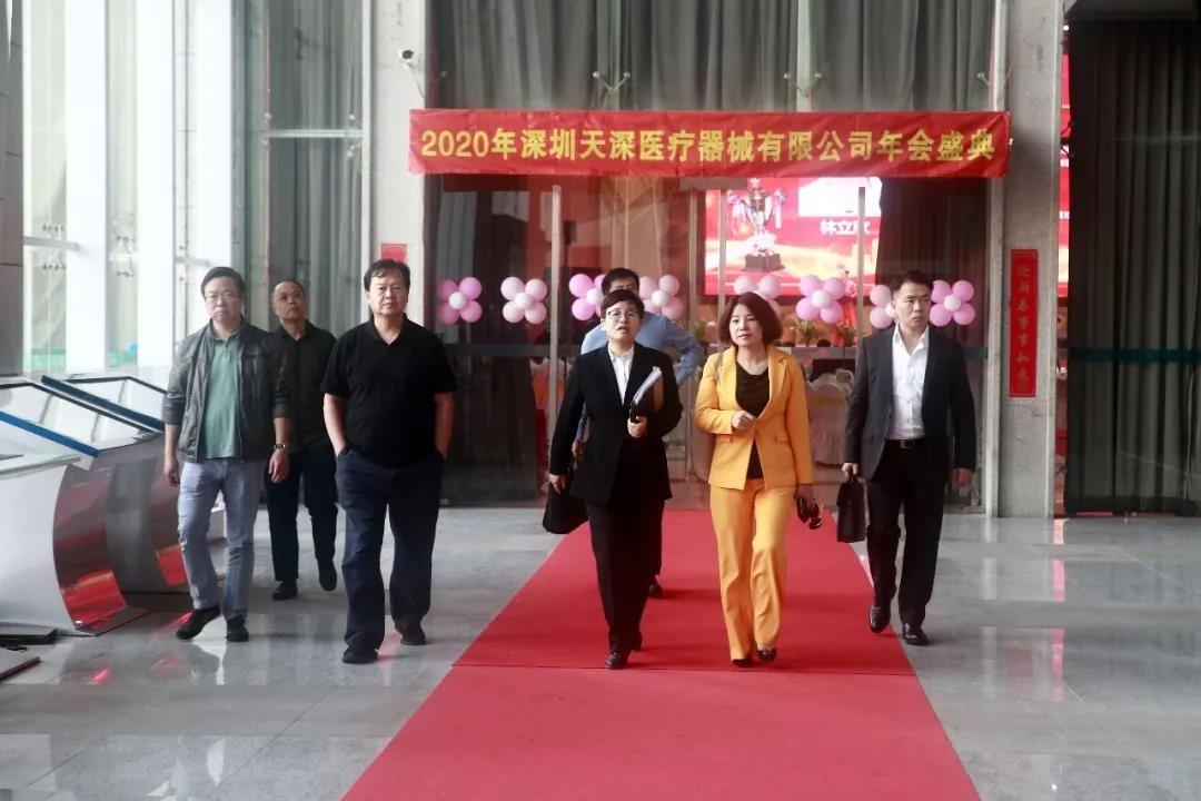 深圳市跨境电商协会嘉宾一行莅临中亚参观考察
