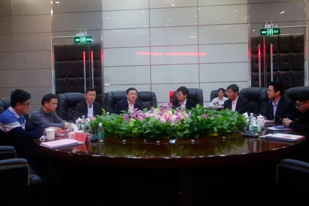 安徽巢湖市政协领导一行莅临中亚参观