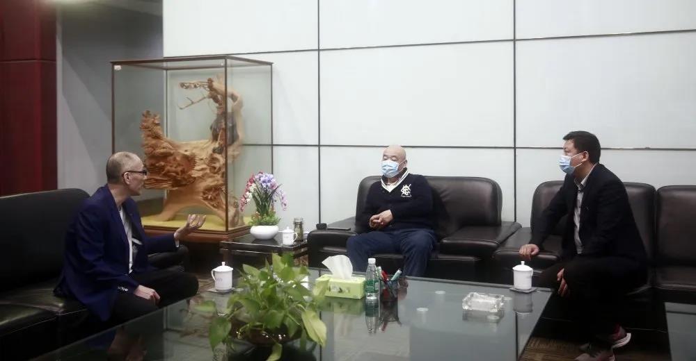 澳大利亚联合矿业公司主席王晓京莅临中亚参观考察