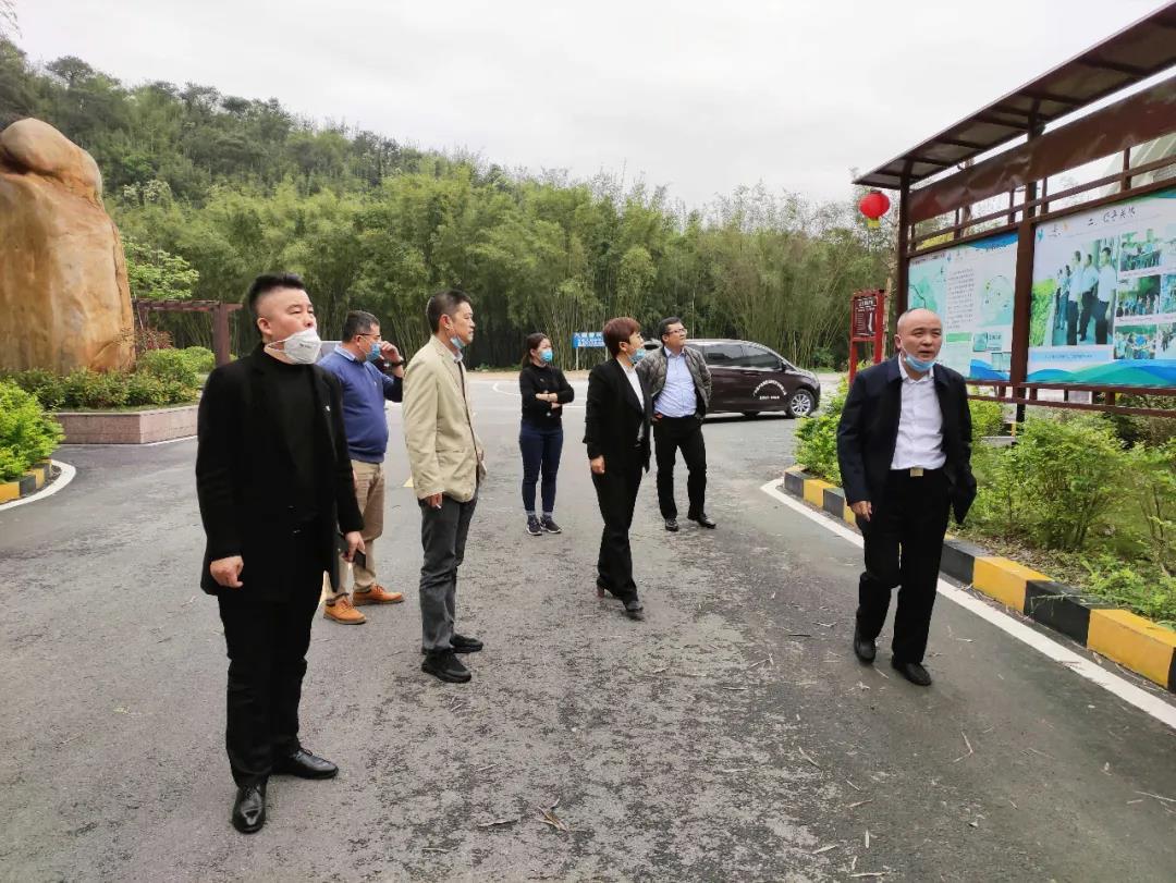 中亚电子城集团总裁夏萍率队赴广东省广宁县考察及洽谈合作