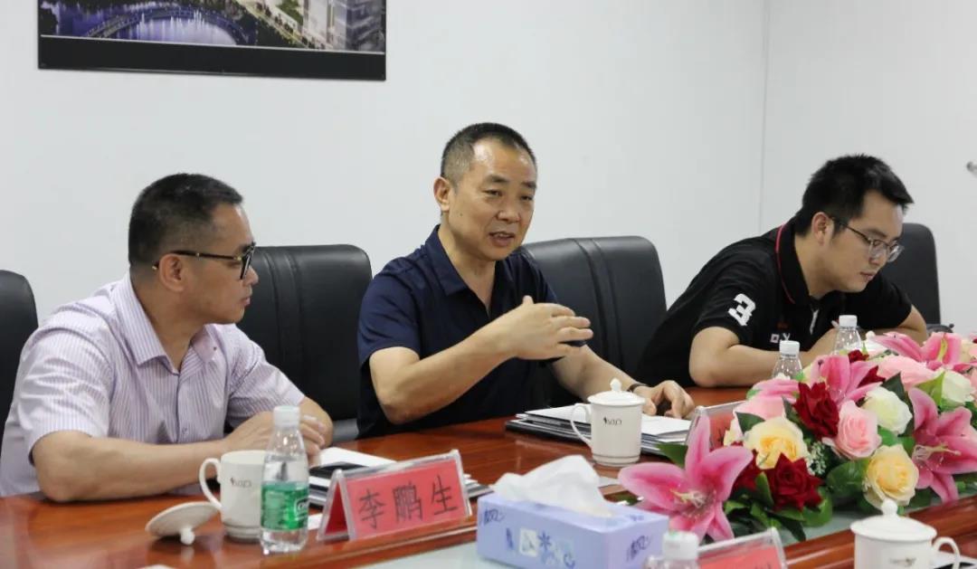 华领智谷城市产业发展公司董事长杜华讲话