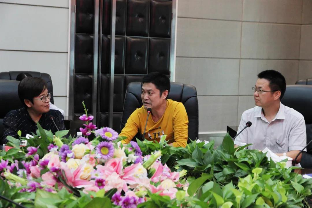 河北省邢台市新河县领导莅临中亚硅谷产业基地参观考察