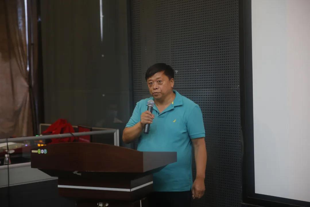 中国尼日利亚友好联盟主席金长生发表讲话