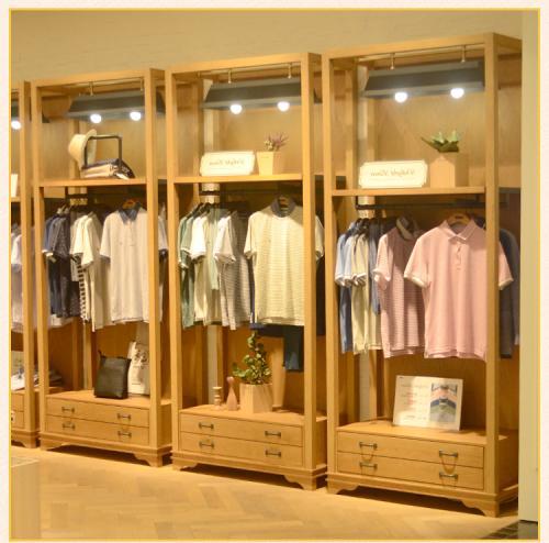 武漢貨架廠家服裝店展示櫃製作注意事項