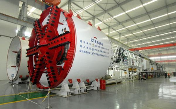 武汉船用机械厂盾构机项目