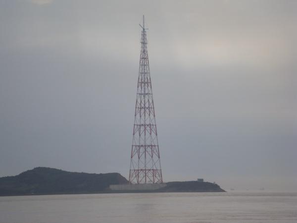 舟山大跨越铁塔(370米)防腐