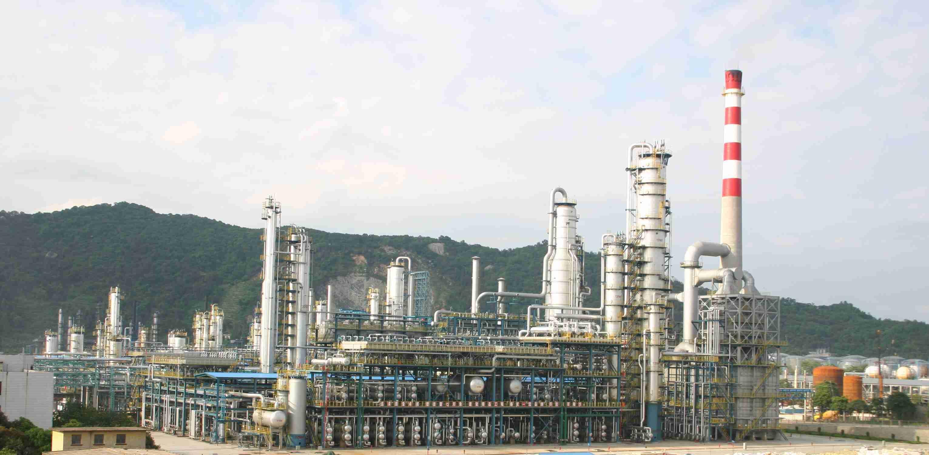 广州炼化装置设备防腐项目