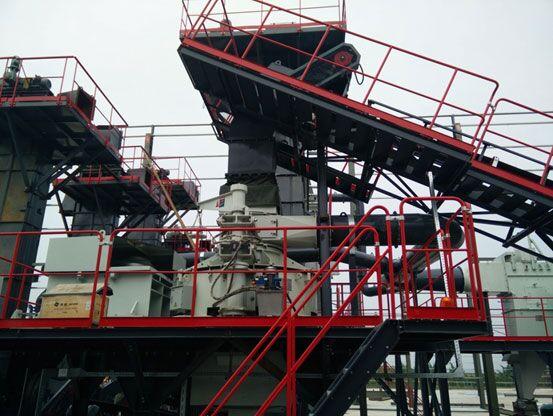 仙桃南方路机精品集料生产线成套设备
