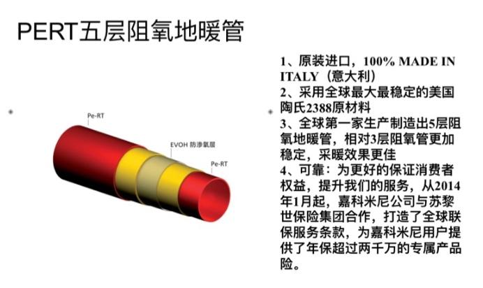 PERT地暖专用管道细节分析说明