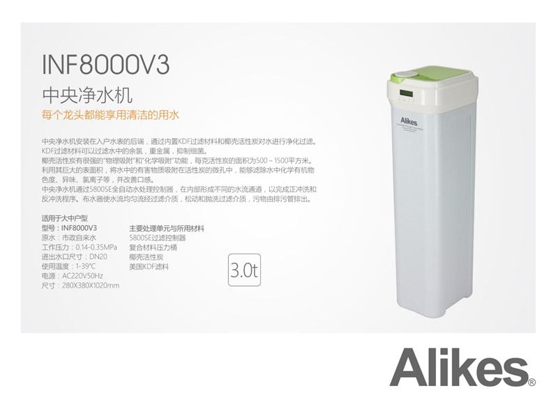 Alikes INF8000V3 中央净水机